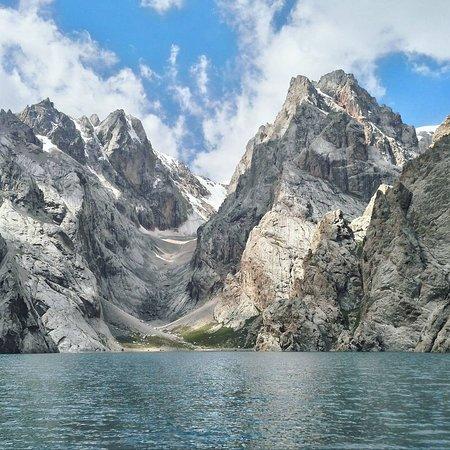 Kel-Suu Lake Foto