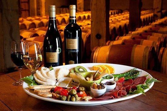 Napier Wine Tour con Chef's Platter