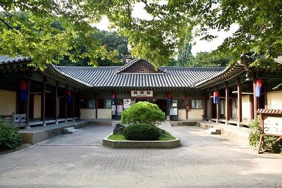 Tour de pueblos folclóricos coreanos...