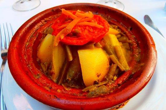 Clase de cocina privada en Marruecos...