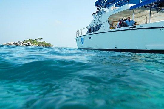 来自普吉岛的晚餐,来自Racha和Mai Ton群岛的VIP双体船体验