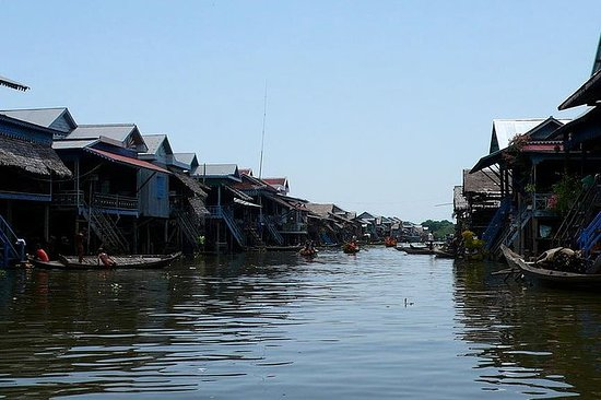 Kompong Phluk Two Floating Villages ...