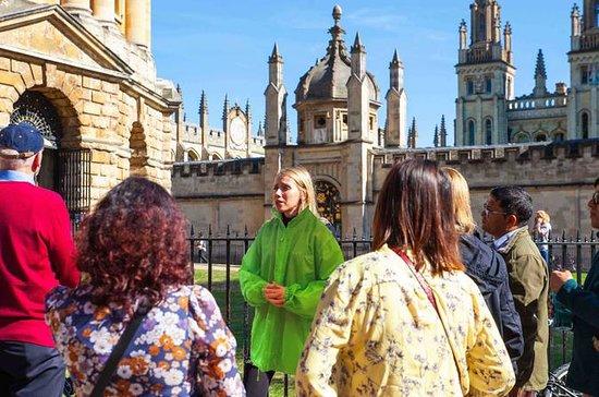 Visite à pied de l'université d'Oxford