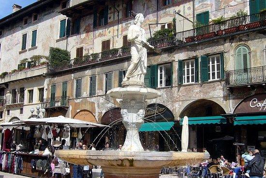 Excursión a pie en Verona con cata de...