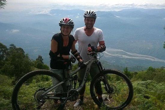 MedellínのSantafe de Antioquiaのマウンテンバイク