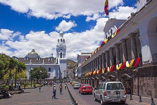 Excursão pela cidade antiga de Quito...
