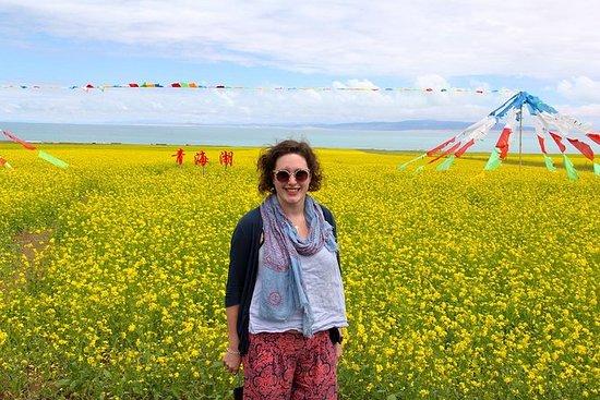 Tour du lac Qinghai
