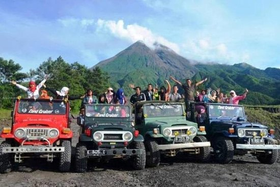 Merapi Volcano and Pindul Cave Tour...