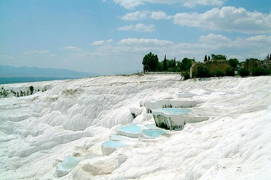 Pamukkale Hot Springs og Hierapolis...