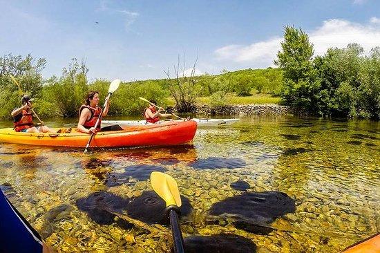 Cetina River Kajakk Adventure med BBQ...