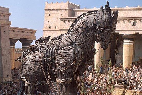 Daglig gammel gresk Troy tur fra...