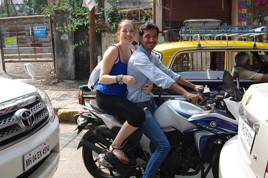 Halve dag motorfietstour door Mumbai