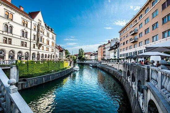 Paseo por la ciudad de Ljubljana y...