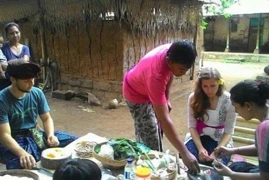 Aula de Culinária Tradicional...