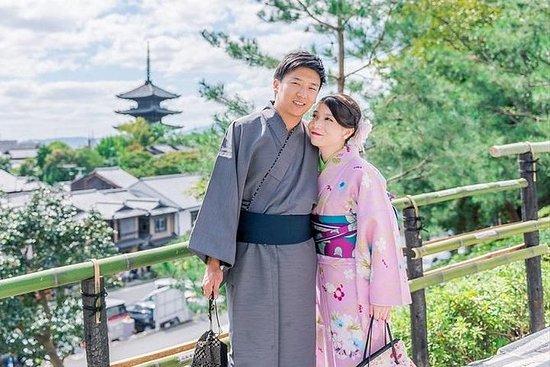 京都で着物・浴衣体験