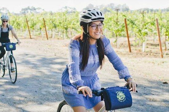 終日ソノマバレーを自転車で巡るワインツアー