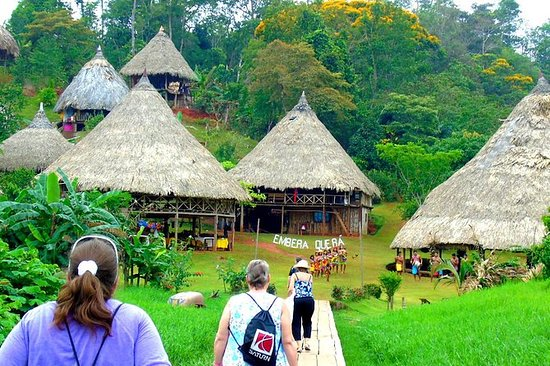 Embera Village Tour fra Panama City
