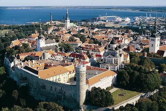 Tallinn Walking Tour med fritid og...