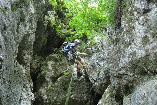 Canyoning on Dambovicioara Gorges...