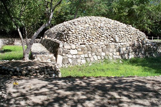 Copalita arkeologiska platsen och ...