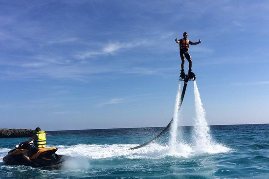 Lange Flyboard Session in Menorca