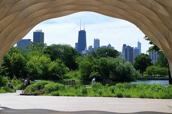 Vandringstur på Lincoln Park i Chicago
