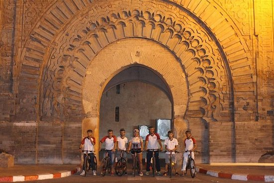 Marrakech Evening Bike Tour with...