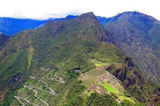 クスコのHuayna PicchuとMachu Picchu