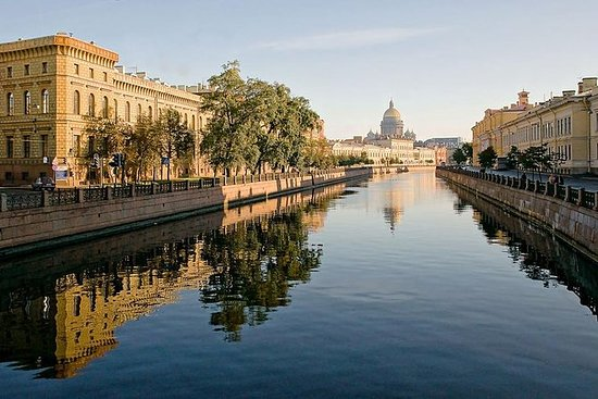 St. Petersburg Bådtur