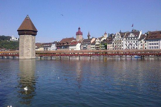 Visite de la ville de Lucerne, y...
