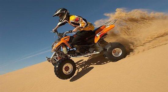 30 Mins Quad Bike, Desert Safari med...