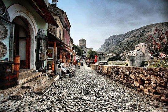 Mostar stadstour - waar Oost en West ...