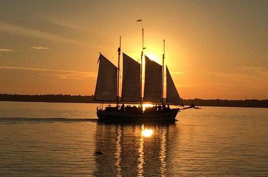 Schooner Sunset Sail på Charleston ...