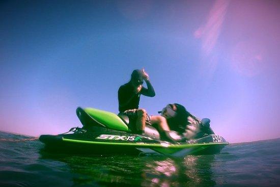 Guidet Jet Ski og Snorkel Tour of...