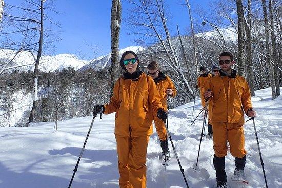 Experiência de Snowshoeing Shinhotaka