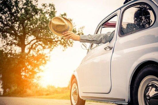 Privat 500 Fiat-tur i Toscana Fra Siena