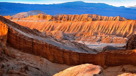 """Chile's """"Moon Valley"""" Shared Small..."""