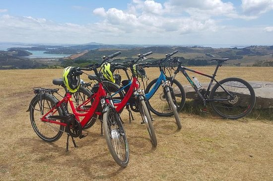 Fritid e-Bike Tour på Waiheke Island...