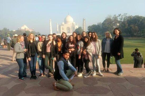 Same Day Taj Mahal y Agra Tour desde...