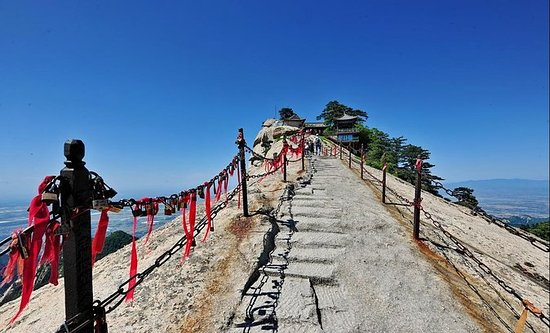 Mt Huashan Small Group Tour