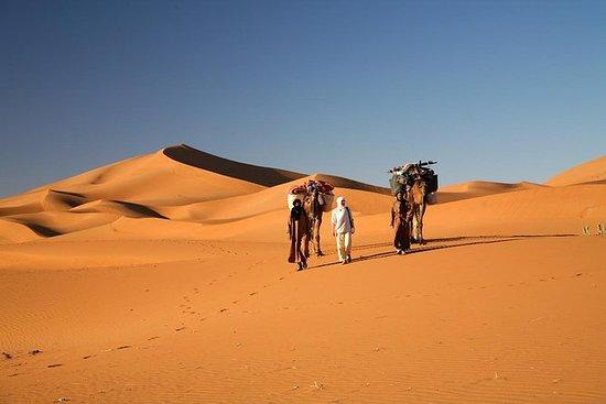 Erg Chegaga desert in Two days one...
