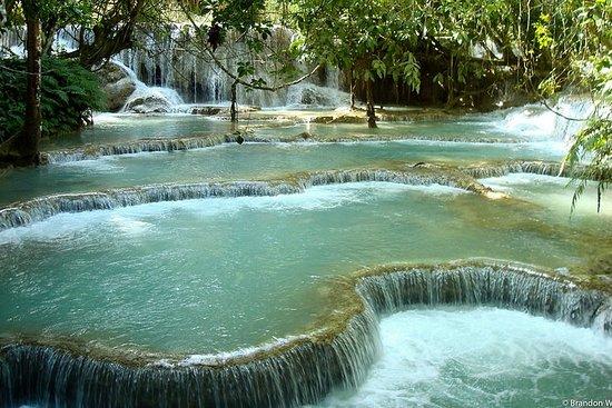 Half day Kuangsi waterfall joining tour