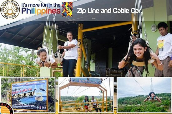 BORACAY ADVENTURE ZIPLINE PLUS KABEL...