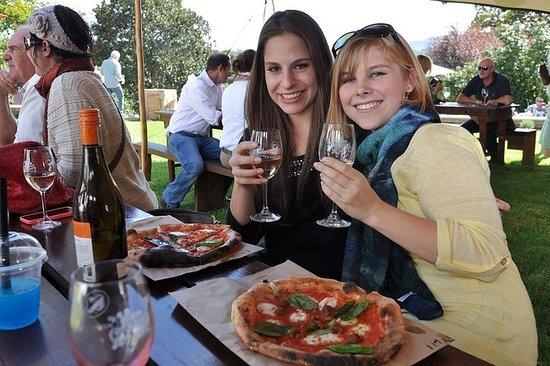 Degustación de vinos en el clima...