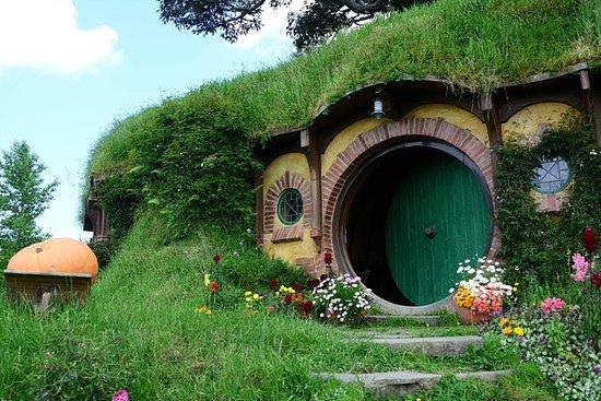 Hobbiton Movie Set and the Geysers of Te Puia, Rotorua