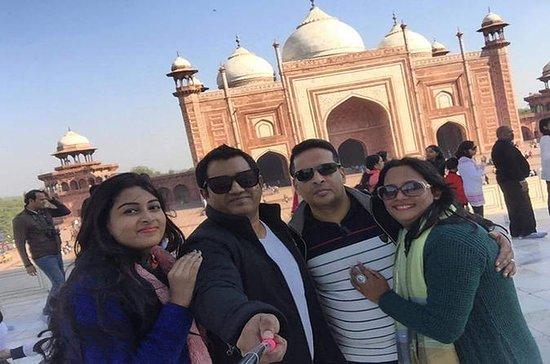Agra Dagstur fra Delhi Inkludert Taj...