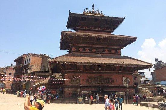 Passeio de Bhaktapur