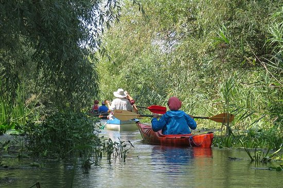 Descobrir Sulina, Delta do Danúbio