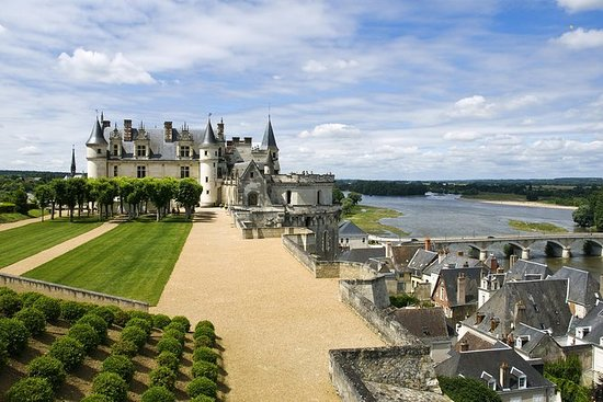 Trois châteaux de la Loire avec...