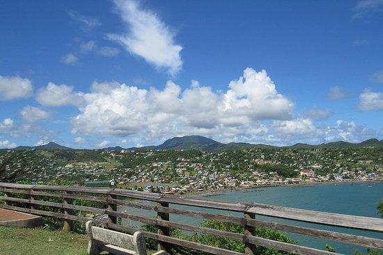 St. Lucia rund um die Insel Tour